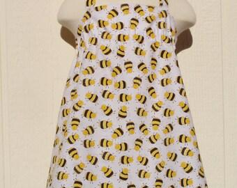 Buzzing Around Halter Dress, Size 12 Months, Bee Dress
