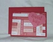 Wordy Valentine Card