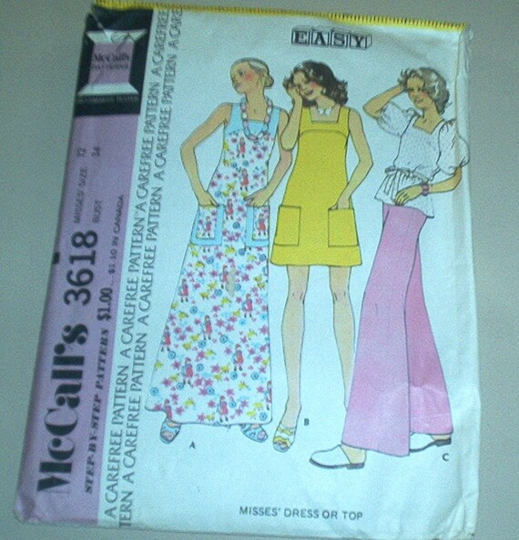 SOLD TO POISONIVY Easy Yoked Dress and Top Size 12