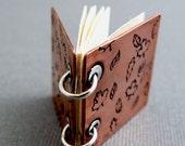 Copper Book Pendant - Fall Leaves