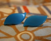 blue birds earrings