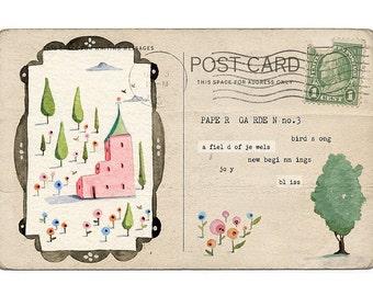 Paper Garden no.3 - Art Print
