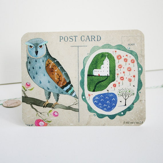 Field note no. 18 - Post card Set