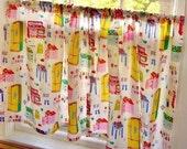 Cafe Curtains - Vintage - Housewives - Home Ec