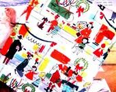 Christmas Pot holder - Retro Kitsch - Miracle on 34th Street