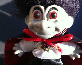 Dracula Halloween Troll Original Russ Troll