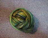 Merino/silk blend roving for spinning