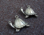 studio sale -- TURTLE charms (3)