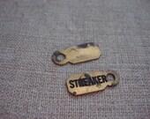 vintage STREAKER charm/tags