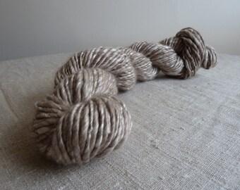 SALE - Handspun Cashmere and silk yarn, 3.5oz