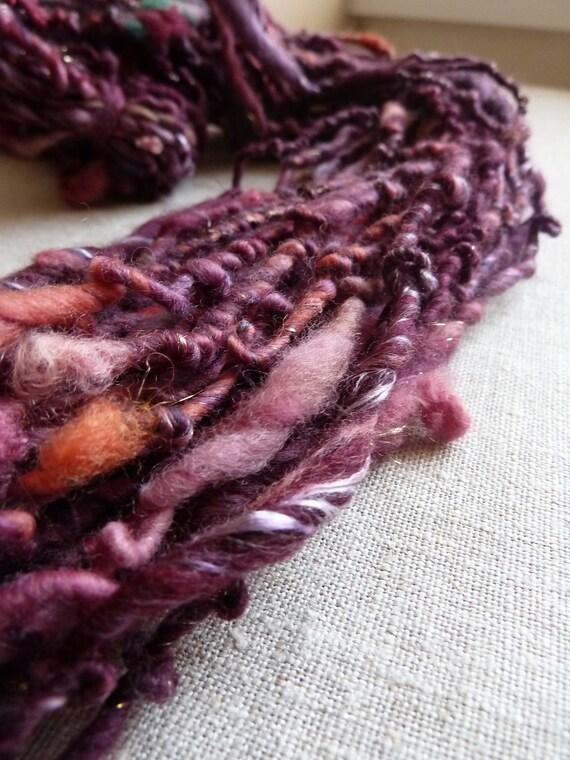 Handspun yarn, arabian nights