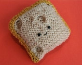 Knitted Jarlsberg with Yellow Rind