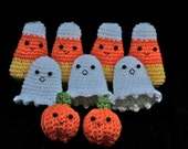 Halloween Buddies -- Crochet Patterns