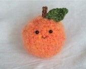 Crochet Fuzzy Peach