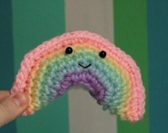 Smiling Pastel Rainbow