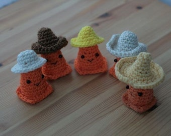 Safety Cone Caps For Sale -- CROCHET PATTERN