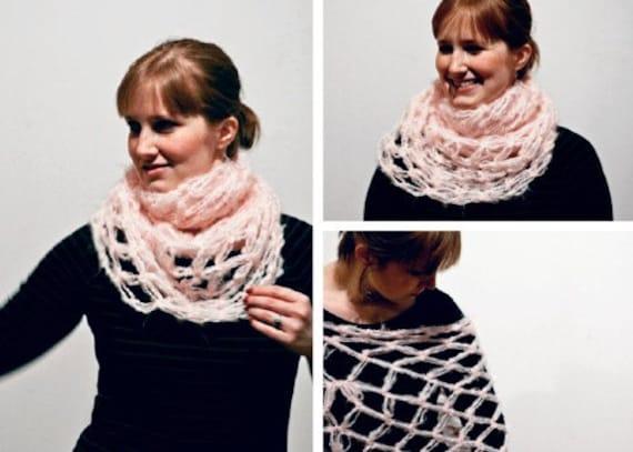 Divine Crochet Cowl Shawl and Hood -- PATTERN