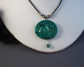 Emerald Rose (226) STEAMPUNK SALE