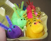 One Dozen Assorted PomPom Bunnies