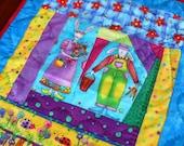 Rabbit Gothic - little quilt