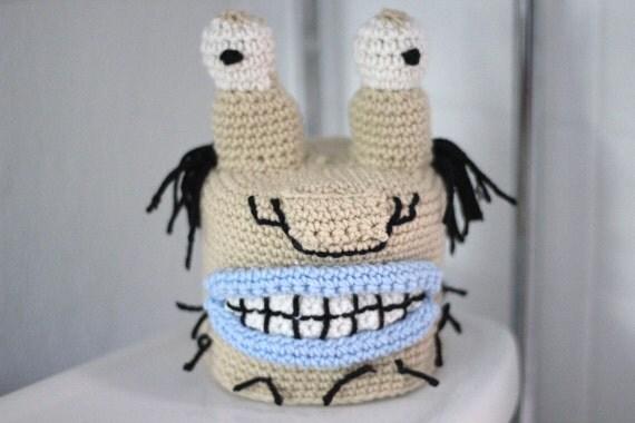 Aaahh Real Monsters Krumm Toilet Paper Cozy Crochet Pattern