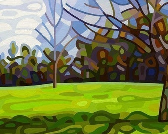 budanArt 8.5 x 11 Print - Spring Shadows