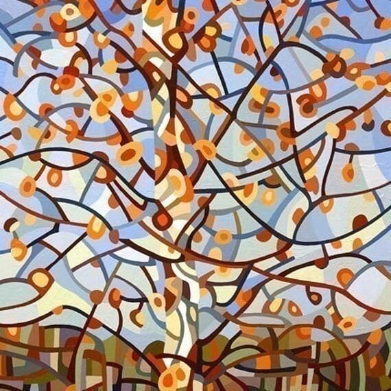 Abstract Fine Art Print - November Sun