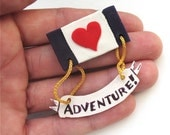 SEND YOUR HEART ON AN ADVENTURE MEDAL
