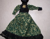 Gibson Costume Hand Crafted 11 inch Fashion Doll Clothing