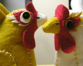 RESERVED listing for BOULDERELIZA - Saana and Merona custom CHICKEN PURSES