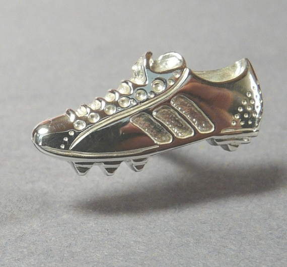 Mens - Sterling Silver Football boot Cufflinks -fathers day