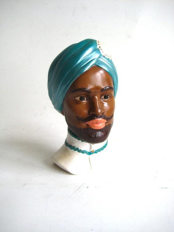 Ceramic Indian Bust