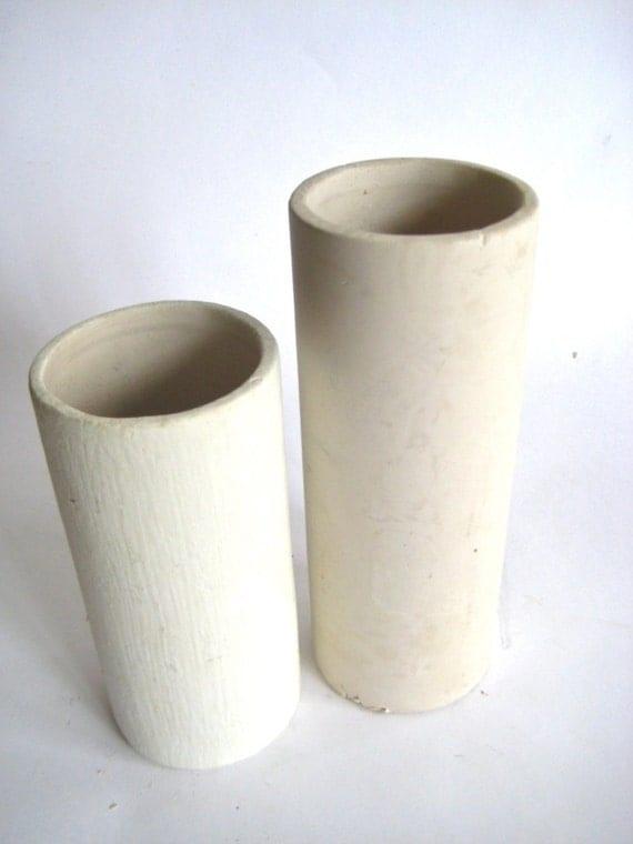 Cylindrical Plaster Ceramic Molds