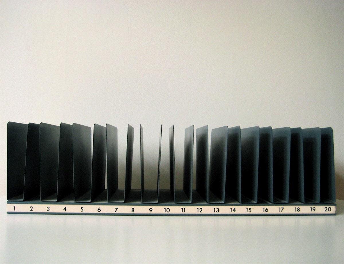 Alpha Numeric Desk File Sorter Metal