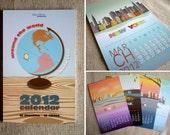 Around The World 2012 Desk Calendar - Pre-order Sale