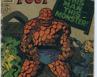 Fantastic Four- This Man...This Monster