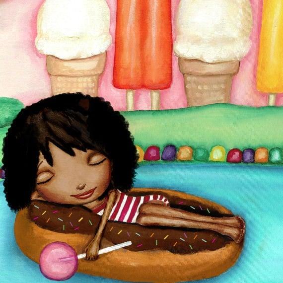 Sweet Dreams Print Nursery Art