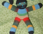 Sock Puppy Bob In Attractive Boyish Stripes