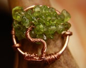 Wear a Tree on your Finger - Custom Colors and Finishes