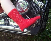 Raudona Socks Knitting PATTERN