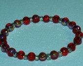 Simple Red Bracelet