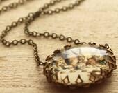Alice Mad Tea Party Necklace