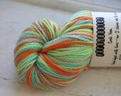 Self-Striping Sock Yarn in Sherbet
