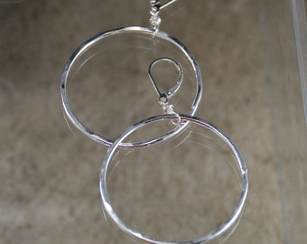 A lovely hoop of Fine Silver - Made to Order