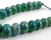 Set of Twenty Extra Micro Gaia Handmade Glass Beads