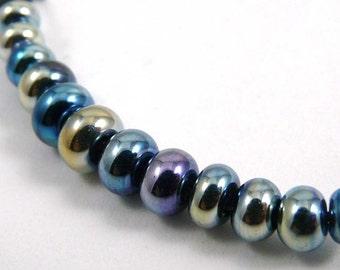 Set of Twelve Extra Extra Micro Triton Accent Handmade Glass Beads