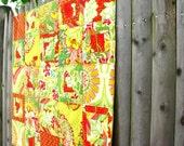 HOLIDAY SALE pop garden primrose quilt