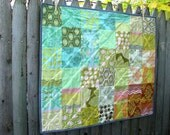 CLEARANCE SALE modern midwestern sunset quilt