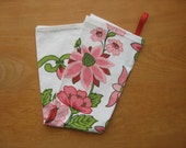Vintage Tablecloth Dishtowel
