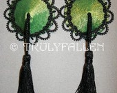 Jade Green Carlotta Pasties